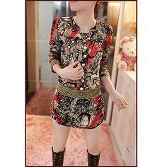 robe d'impression floral de TYT femmes - EUR € 10.31
