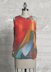 Chrysalis: the emerging of something beautiful-Custom made garment in Liv designer collection.