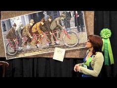 Lea McComas Talks About Her Award-Winning Quilt: Bike Boys