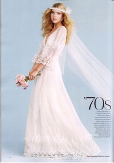 Claire Pettibone 'Grace' wedding gown featured in the January/February Issue of Bridal Guide Magazine