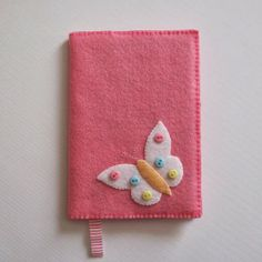 Felt notebook cover-Little Wilds