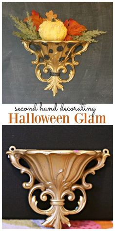 Recycled and repurpose items for Halloween Holiday decor! DIY Halloween decoration that's budget-friendly. Click on the photo for more! TodaysCreativeLife.com Diy Halloween Decorations, Easy Halloween, Holiday Decor, Creative, Crafts, Manualidades, Handmade Crafts, Diy Crafts, Craft