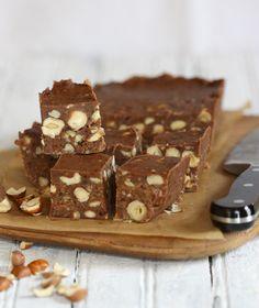 Dairy-Free and Vegan Chocolate Hazelnut Fudge