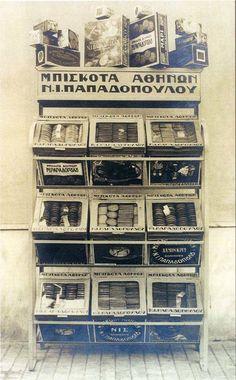 Τα αγαπημένα μας μπισκότα Retro Poster, Poster Ads, Retro Ads, Advertising Poster, Vintage Magazines, Vintage Ads, Vintage Posters, Vintage Photos, Greece Pictures
