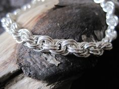 Double Spiral Sterling Silver