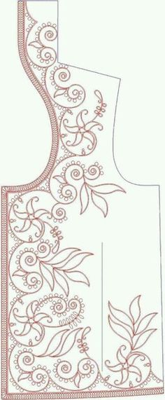 Bordados Tambour, Tambour Embroidery, Embroidery Applique, Beaded Embroidery, Embroidery Stitches, Machine Embroidery, Hand Embroidery Designs, Embroidery Patterns, Sewing Patterns