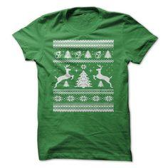 Christmas Ugly Sweater T Shirts, Hoodies. Get it now ==► https://www.sunfrog.com/Christmas/Christmas-Shirt.html?41382