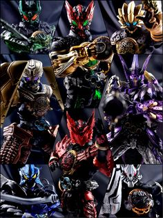 Kamen Rider Ooo, Kamen Rider Series, Hero Time, Super Hero Costumes, Kirito, Power Rangers, Character Art, Action Figures, Geek Stuff