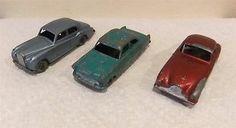 Vintage Matchbox Lesney Cars X 3, MB 33, 44, 53, 1957-58. - http://www.matchbox-lesney.com/50971