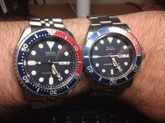 skx007 alongside my 7S26 0040/skx031