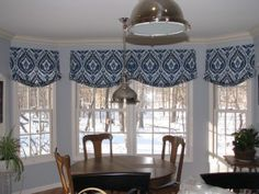 Relaxed Roman Shade Valances