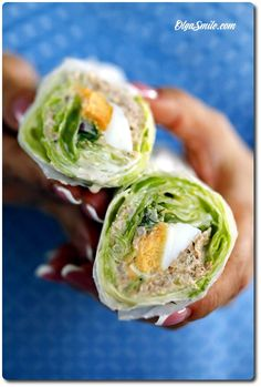 Salat Wraps, Paleo, Fish Dishes, Tapas, Cabbage, Grilling, Good Food, Lunch Box, Food And Drink