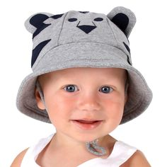 Bucket Hat with Strap for girls & boys UPF 50+ Sun Protection - Australian Design & Owned