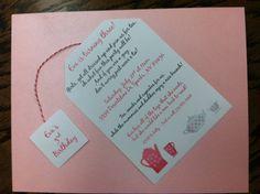 Tea Party Birthday Invitation by alisamariedesigns on Etsy, $3.00