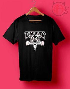 db859b58c3ca Thrasher Skategoat T Shirt Tiger T Shirt