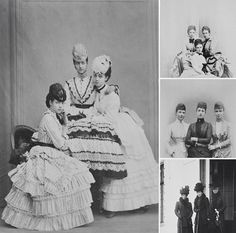Princess Thyra of Denmark, sister of Queen Alexandra and Empress Maria Feodorovna, later Duchess of Cumberland and Crown Princess of Hanover, was born in Copenhagen on this day in 1853. Throughout their lives, the three lovely Danish princesses, who were all very close, were photographed together.