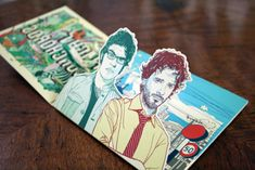 Flight of the Conchords CD Packaging. If you want to customize a good-looking CD packaging, visit http://www.unifiedmanufacturing.com/
