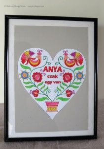 anyaknapja3 Decorative Plates, Paper Crafts, Day, Frame, Gifts, Home Decor, Mothers, Mother's Day, Homemade Home Decor
