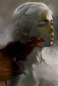 Beautiful illustration of one of Game of Throne's main charters Daenerys Targaryen a.a Khaleesi and Mother of Dragons. By sketches n. Daenerys Targaryen, Khaleesi, Best Wallpaper Iphone, Mobile Wallpaper, Fantasy World, Fantasy Art, Dark Fantasy, Illustrations, Illustration Art