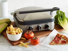 Your New Favorite Appliance : <p>From leftovers to roast chicken, here are ten ways the panini press earns its counter space in the kitchen.</p>  <p> </p>  <p><b>From Food Network Kitchen</b></p> via Food Network