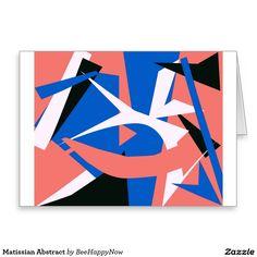 Happy festivas greeting card with leafy design matissian abstract greeting card greeting cardsabstractexecutive summary m4hsunfo