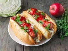 Hot Dogs with a Special ToppingFollow for recipesGet your  Mein Blog: Alles rund um Genuss & Geschmack  Kochen Backen Braten Vorspeisen Mains & Desserts!