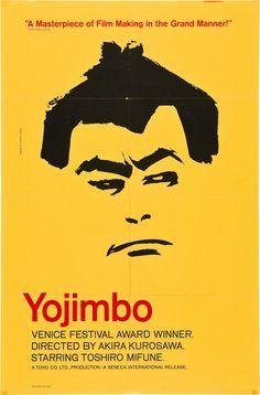 Yojimbo (Akira Kurosawa, 1961) Design by Everett Aison