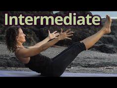 Yoga Class #3 w/Dagmar Vinyasa Flow - Intermediate - Energizing Sunrise Practice with Hang Music - YouTube