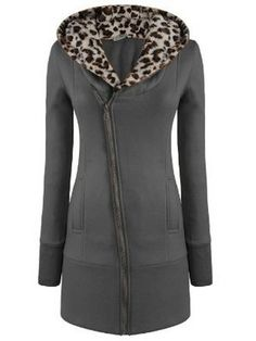 Comfortable Casual  Long Sleeve Blended  Hoody Hoodies from fashionmia.com