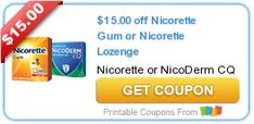 Melissa's Coupon Bargains: NEW! Released Coupons! Nicorette~Listerine~OxyClea...