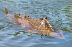 Bob Martin builds Steampunk replica of the Nautilus submarine