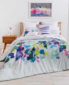 bluebellgray Palette Mint Reversible Bedding Collection - Bedding Collections - Bed & Bath - Macy's