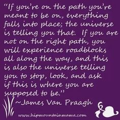 .James Van Pragh ~ The Right Path