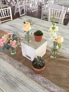 Centro de mesa Primera Comunión