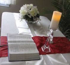 Prayer Room Altar #WordOfGod #PrayerRoom www.unitedfaithchurch.org