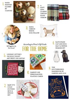 Holiday Gift Guide: Gifts for the Home