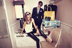 Life of luxury: The City actress Olivia Palermo and her boyfriend of four years, German model Johannes Huebl, fool around in their sumptuous hotel suite at Le Meurice in Paris Estilo Olivia Palermo, Olivia Palermo Lookbook, Le Meurice, Johannes Huebl, Engagement Celebration, Stylish Couple, Thing 1, Vogue, Beauty Tips