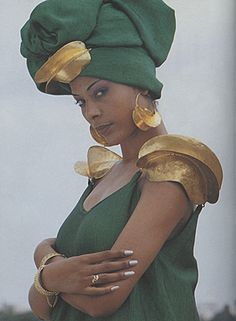 By designer Oumou Sy of Senegal: Modern Fulani fashion
