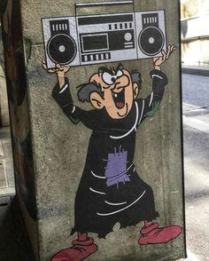 super Ideas for wall graffiti home street artists Best Street Art, Amazing Street Art, Graffiti Kunst, Street Tattoo, Graffiti Tagging, Murals Street Art, Art Graphique, Sculpture, Street Artists