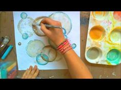 ▶ The Crafters Workshop DT post background and embellishment video - YouTube