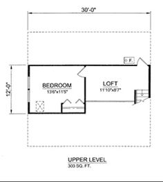 1143 Sq. Ft. House Plan [11-015-225] from Planhouse - Home Plans, House Plans, Floor Plans, Design Plans