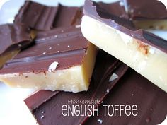Six Sisters' Stuff: English Toffee Recipe