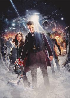 """""""The Time of The Doctor"""" Promotional Poster"""