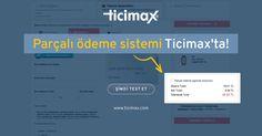 #Eticaret yapmak #Ticimax ile çok avantajlı! Parçalı ödeme sistemi ile tek siparişi aynı anda birden fazla ödeme yöntemi ile tamamlatın! şimdi test edin>ticimax.com  #eticaret #sanalmağaza #eticaretsitesi #onlinesatış #ecommerce #mobilticaret #satışsitesi #ticimax