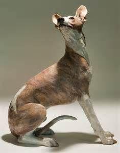 Dog Sculpture - Nick Mackman Animal Sculpture