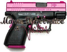 Pink gun