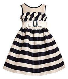 Bonnie Jean 716 NauticalStripe Dress #Dillards