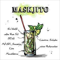 Das Leben ist viel zu kurz für schlechte Getränke!  ENDLICH WOCHENENDE!  Um ins Weekend zu starten gibt es heute den Maskjito?  Was ihr dafür benötigt und wie er zubereitet wird findet ihr hier: http://happyhour.mask-energy.com/Maskjito.pdf  http://shop.mask-energy.com/startseite/mask-sensation-lime-24x250ml.html  Lasst eure Freunde daran teilhaben also shaken, liken und teilen!  Wir freuen uns von euch zu hören. Ein sonniges Wochenende wünscht  Euer MASK Team