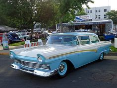 1957 Ford Fairlane Custom 300. ..Re-pin...Brought to you by #CarInsurance at #HouseofInsurance in #Eugene, Oregon
