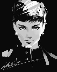 Audrey Hepburn…   Hey Crazy